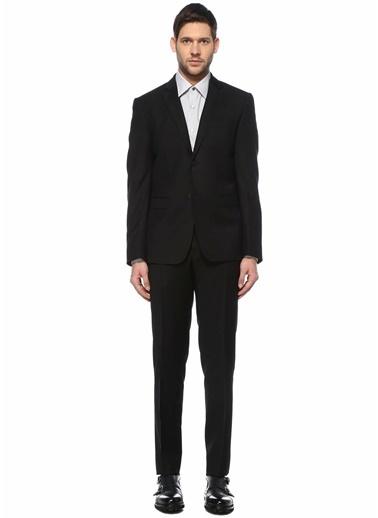 Pal Zileri Pal Zileri Lab Yün Erkek Takım Elbise Siyah